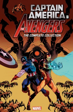 CAPTAIN AMERICA AND THE AVENGERS THE COMPLETE COLLECTION GRAPHIC NOVEL