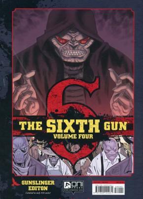 SIXTH GUN GUNSLINGER EDITION VOLUME 4 HARDCOVER