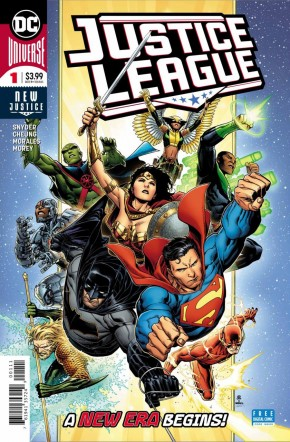 JUSTICE LEAGUE #1 (2018 SERIES)
