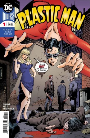 PLASTIC MAN #1 (2018 SERIES)