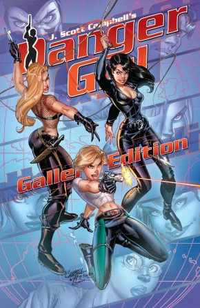 J SCOTT CAMPBELL DANGER GIRL GALLERY EDITION  HARDCOVER