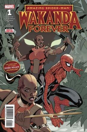 WAKANDA FOREVER AMAZING SPIDER-MAN #1