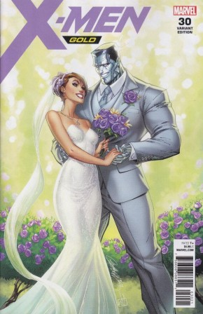 X-MEN GOLD #30 J SCOTT CAMPBELL KITTY AND COLOSSUS VARIANT
