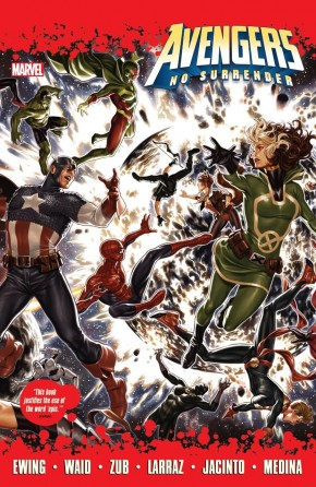 AVENGERS NO SURRENDER HARDCOVER