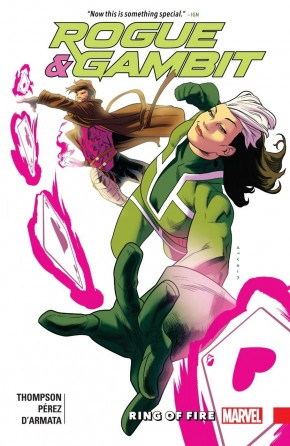 ROGUE AND GAMBIT RING OF FIRE GRAPHIC NOVEL