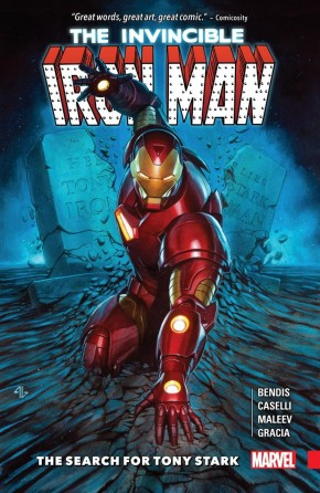 INVINCIBLE IRON MAN SEARCH FOR TONY STARK GRAPHIC NOVEL