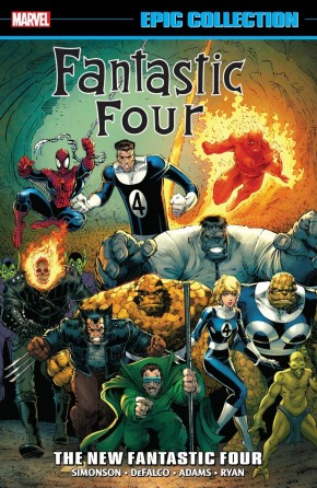 FANTASTIC FOUR EPIC COLLECTION THE NEW FANTASTIC FOUR GRAPHIC NOVEL