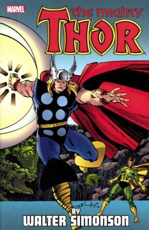 THOR BY WALTER SIMONSON VOLUME 4 GRAPHIC NOVEL