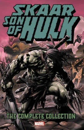 SKAAR SON OF HULK COMPLETE COLLECTION GRAPHIC NOVEL