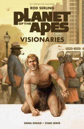 PLANET OF THE APES VISIONARIES ROD SERLING ORIGINAL HARDCOVER