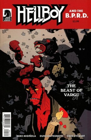HELLBOY AND THE BPRD BEAST OF VARGU COVER B MIGNOLA COVER