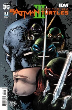 BATMAN TEENAGE MUTANT NINJA TURTLES III #2