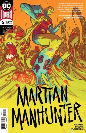 MARTIAN MANHUNTER #6 (2018 SERIES)