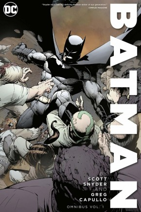 BATMAN BY SCOTT SNYDER AND GREG CAPULLO OMNIBUS VOLUME 1 HARDCOVER