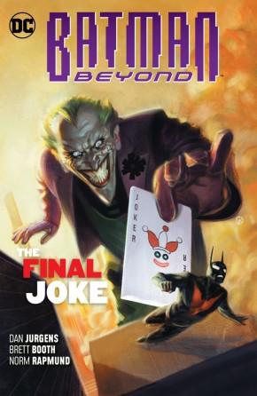 BATMAN BEYOND VOLUME 5 THE FINAL JOKE GRAPHIC NOVEL