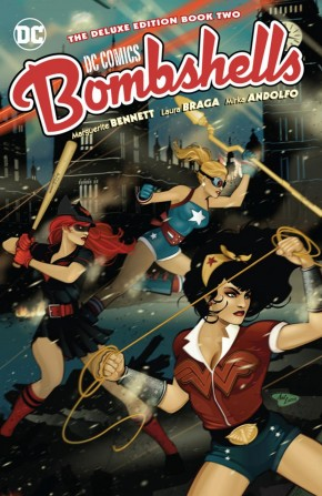 DC BOMBSHELLS THE DELUXE EDITION BOOK 2 HARDCOVER
