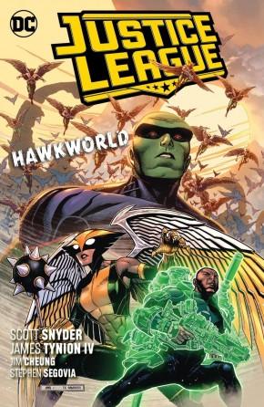 JUSTICE LEAGUE VOLUME 3 HAWKWORLD GRAPHIC NOVEL