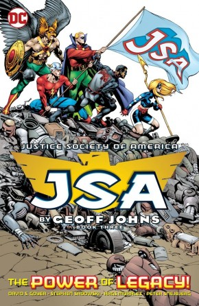JSA BY GEOFF JOHNS BOOK 3 GRAPHIC NOVEL
