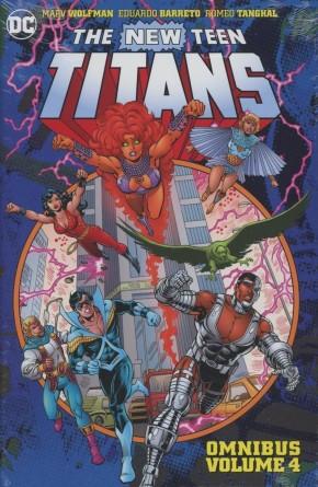 NEW TEEN TITANS OMNIBUS VOLUME 4 HARDCOVER