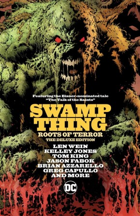 SWAMP THINGS ROOTS OF TERROR DELUXE EDITION HARDCOVER