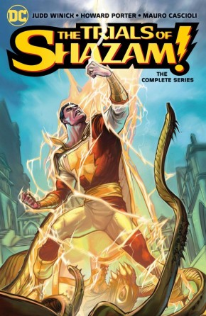 THE TRIALS OF SHAZAM THE COMPLETE SERIES GRAPHIC NOVEL