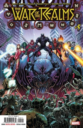 WAR OF THE REALMS #5 1ST PRINTING