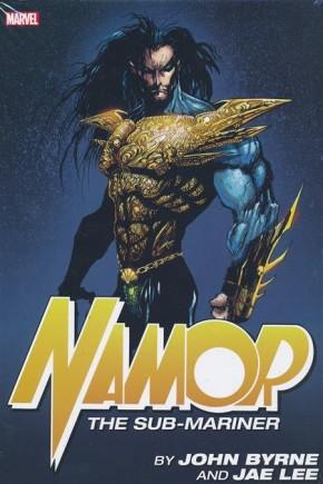 NAMOR SUB-MARINER BY BYRNE AND JAE LEE OMNIBUS DM VARIANT HARDCOVER