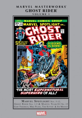 MARVEL MASTERWORKS GHOST RIDER VOLUME 1 HARDCOVER