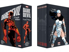 DAREDEVIL BY FRANK MILLER SLIPCASE SOFTCOVER BOX SET