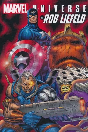 MARVEL UNIVERSE BY ROB LIEFELD OMNIBUS HARDCOVER