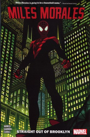 MILES MORALES VOLUME 1 STRAIGHT OUT OF BROOKLYN GRAPHIC NOVEL