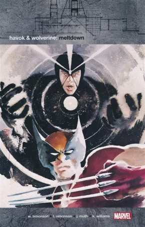 HAVOK AND WOLVERINE MELTDOWN GRAPHIC NOVEL (NEW PRINTING)