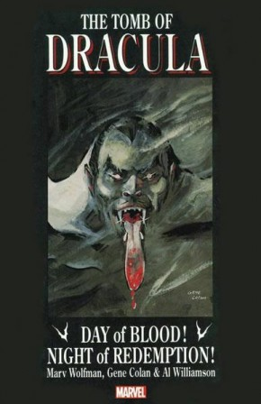 TOMB OF DRACULA DAY OF BLOOD NIGHT OF REDEMPTION GRAPHIC NOVEL