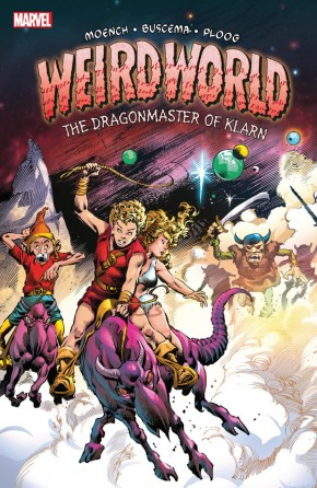 WEIRDWORLD THE DRAGONMASTER OF KLARN GRAPHIC NOVEL