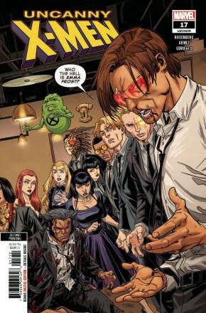 UNCANNY X-MEN #17 (2018 SERIES) 2ND PRINTING