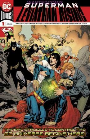 SUPERMAN LEVIATHAN RISING SPECIAL #1 2ND PRINTING