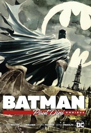 BATMAN BY PAUL DINI OMNIBUS HARDCOVER