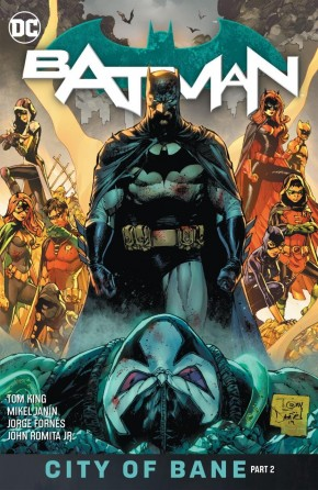 BATMAN BOOK 13 CITY OF BANE PART TWO HARDCOVER
