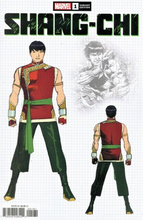 SHANG-CHI #1 CHEUNG 1 IN 10 DESIGN INCENTIVE