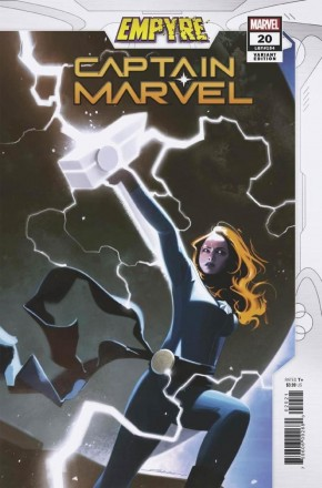 CAPTAIN MARVEL #20 (2019 SERIES) DEKAL EMPYRE VARIANT
