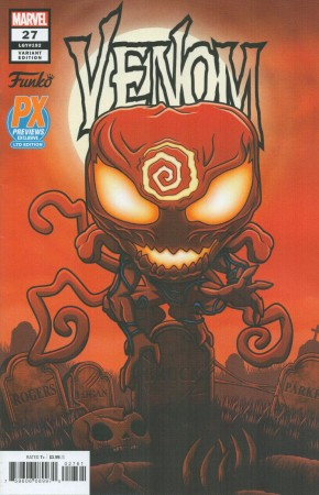 VENOM #27 (2018 SERIES) FUNKO VARIANT FIRST APPEARANCE OF CODEX