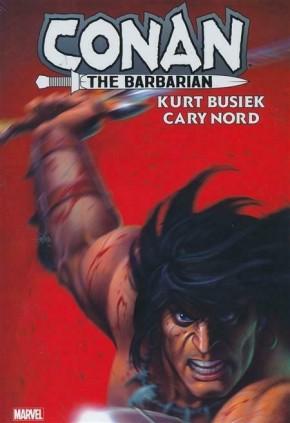 CONAN THE BARBARIAN BY KURT BUSIEK OMNIBUS DM VARIANT HARDCOVER