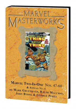 MARVEL MASTERWORKS MARVEL TWO IN ONE VOLUME 5 DM VARIANT #296 EDITION HARDCOVER