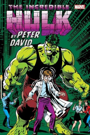 INCREDIBLE HULK BY PETER DAVID OMNIBUS VOLUME 2 KEOWN ANNIVERSARY DM VARIANT HARDCOVER