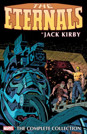 ETERNALS BY KIRBY THE COMPLETE COLLECTION GRAPHIC NOVEL (REMASTERED COVER)
