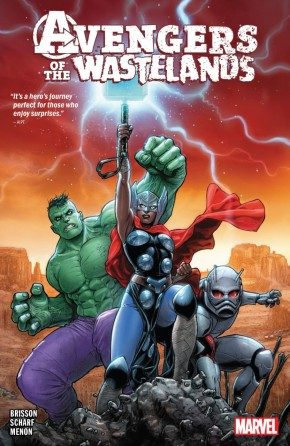 AVENGERS OF THE WASTELANDS GRAPHIC NOVEL
