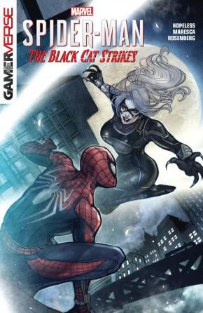 MARVELS SPIDER-MAN THE BLACK CAT STRIKES GRAPHIC NOVEL