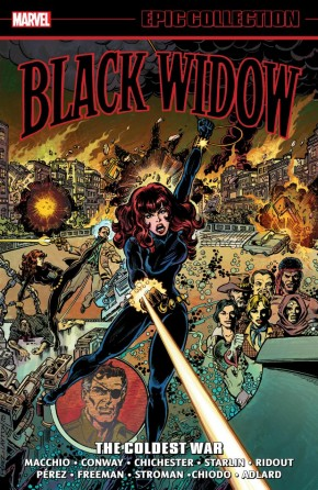 BLACK WIDOW EPIC COLLECTION THE COLDEST WAR GRAPHIC NOVEL