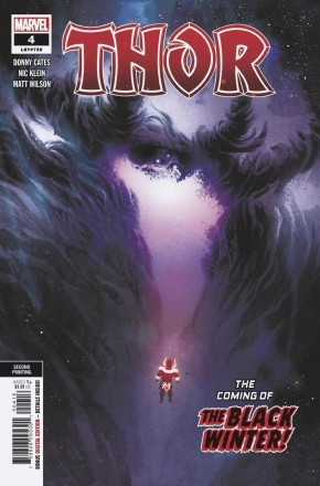 THOR #4 (2020 SERIES) 2ND PRINTING FIRST CAMEO APPEARANCE OF BLACK WINTER