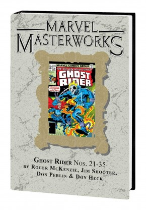 MARVEL MASTERWORKS GHOST RIDER VOLUME 3 DM VARIANT #313 EDITION HARDCOVER